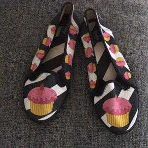 Keds Custom Cupcake slip on sneakers